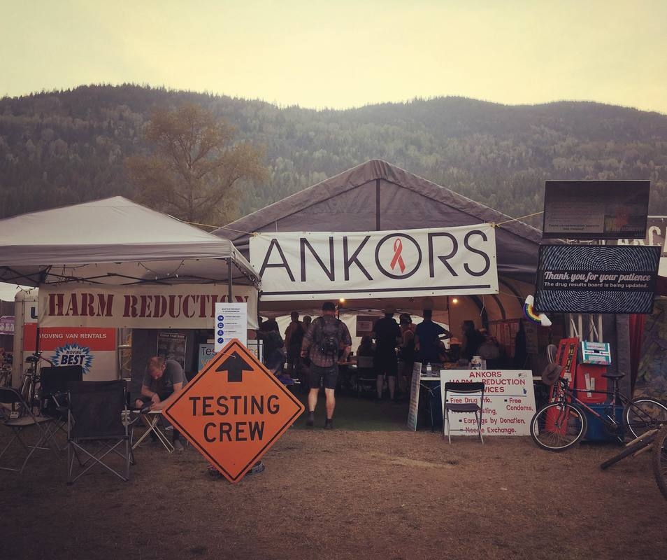 ANKORS Testing Crew at Festival