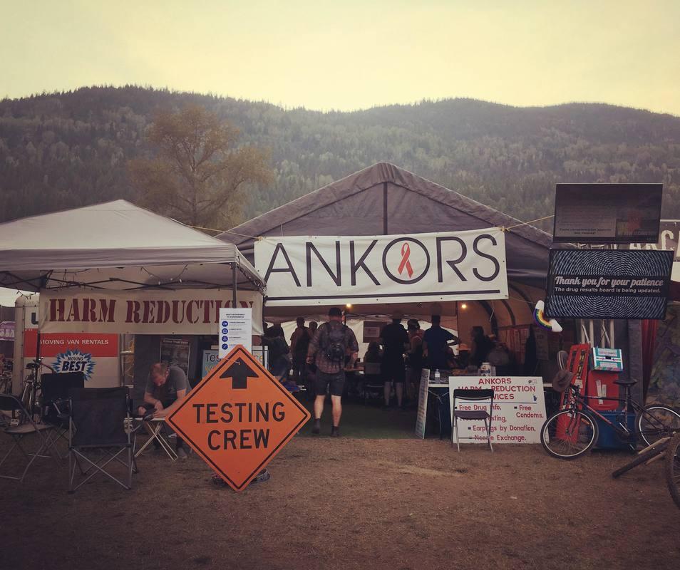 ANKORS Testing Crew at Festival